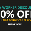 Key Worker Discount